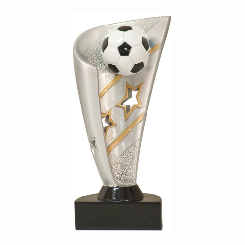 Banner Soccer Resin Trophy