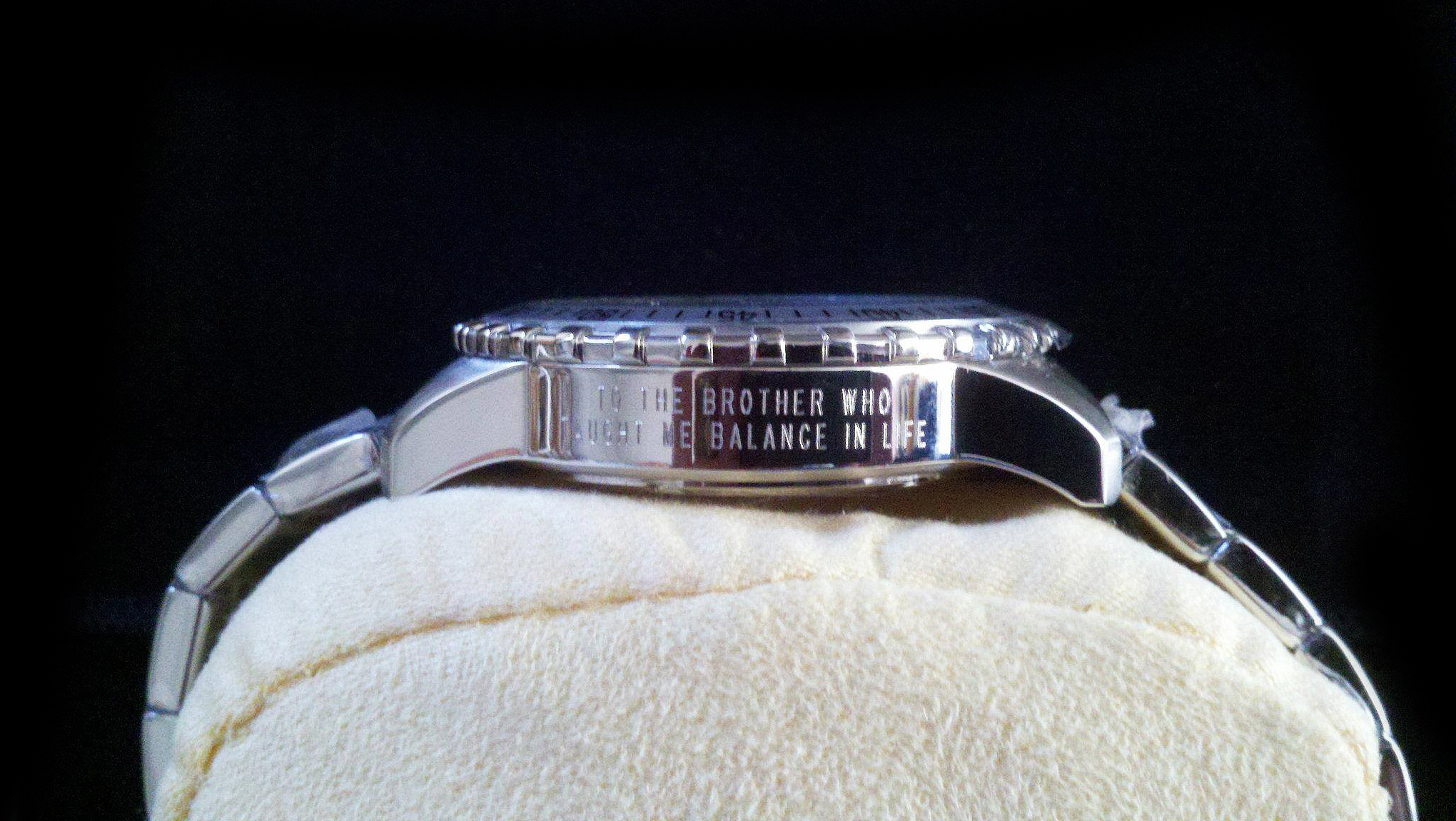 Pen and Trophy Engraved Watch