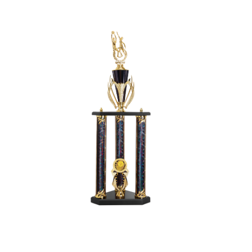 3 post basketball trophy